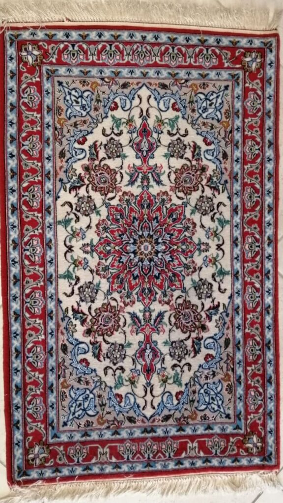 62C Isfahan ordito seta 113x70